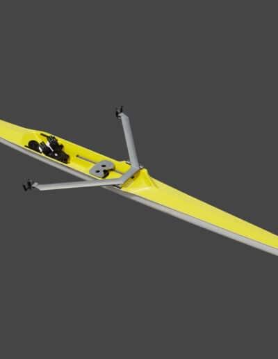 1x solo skiff cadet jaune Swift