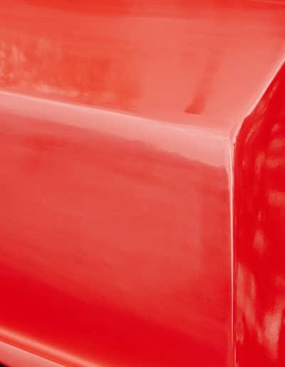 CA 1x solo skiff cadet rouge Swift bouchon