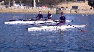 Fun skiff 1x canoe simple Swift racing