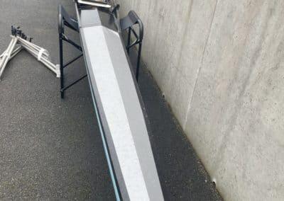 Double de couple 2x fibre bleu toilé – Porteur 80 kg