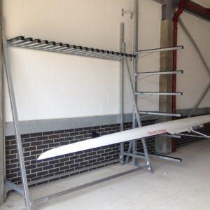 Rack vertical à avirons acier galvanisé