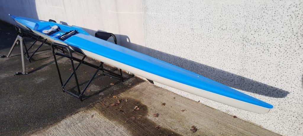 Skiff 1x trainer pour adulte Club B 75-90 kg neuf bleu