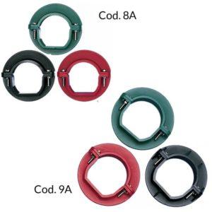 cod9 collier couple vert rouge symetrique