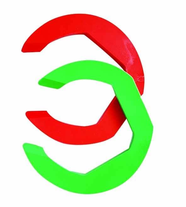 bow stroke spacer clamp de reglage 5mm vert rouge