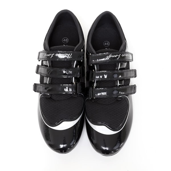 chaussures aviron thomas lange paire dessus