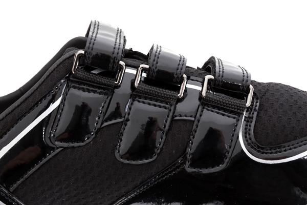 chaussures aviron thomas lange profil cote scratch