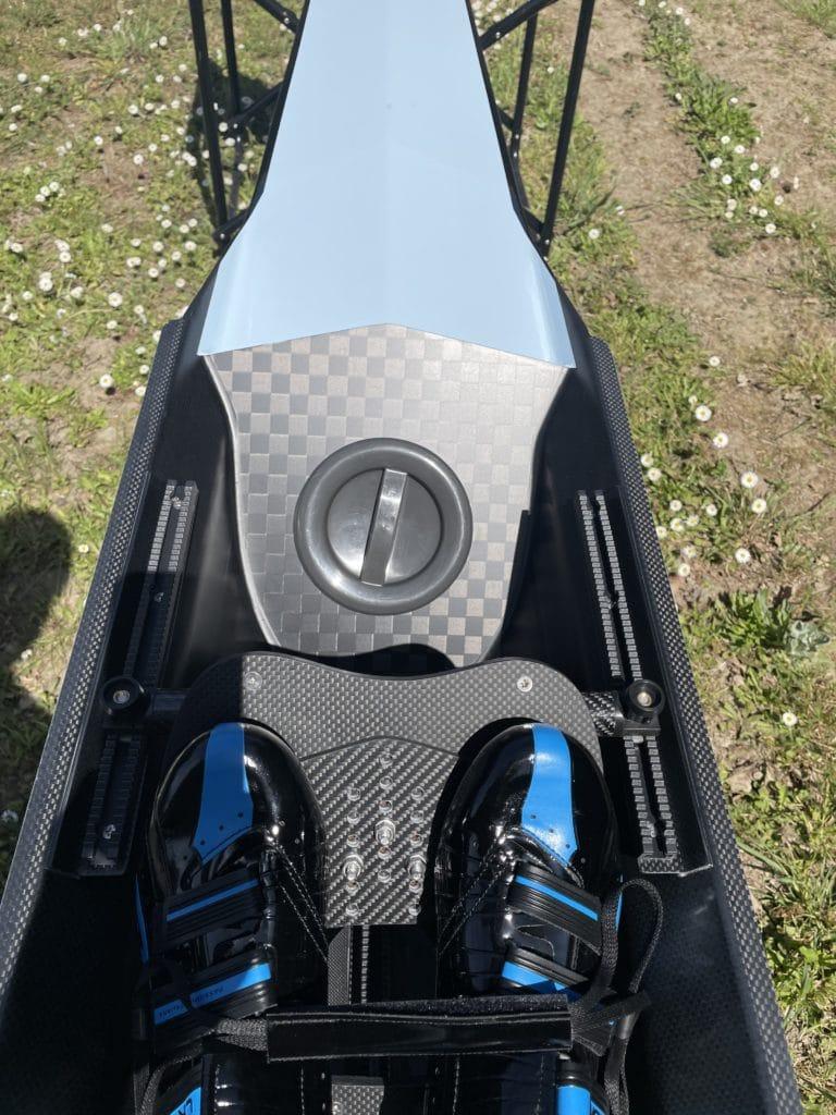 1x skiff salani carbone pegaso pl bleu ciel 45 65 coque cote chaussures