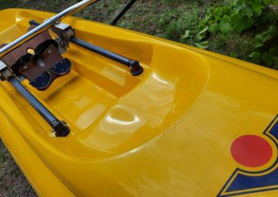 1x Turboskiff VIRUS AVEC avirons Concept 2