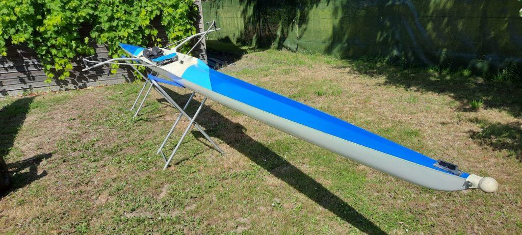 skiff 1x erdel polyester bleu occasion 2